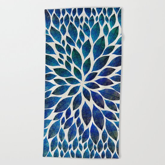 Petal Burst #15 Beach Towel