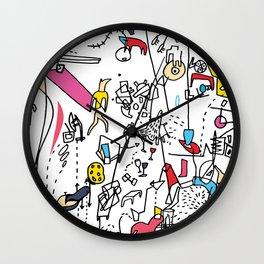 Subatomic Wall Clock