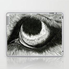 Pencil Drawing - Wolf Eye Laptop & iPad Skin