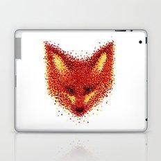 Pointilism Fox Face Laptop & iPad Skin