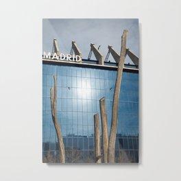 Madridista Metal Print