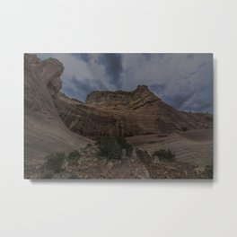 New Mexican Mountains Metal Print