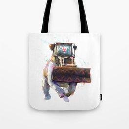 Dozer Bulldozer Tote Bag