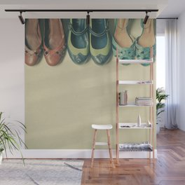 The Shoe Collection Wall Mural