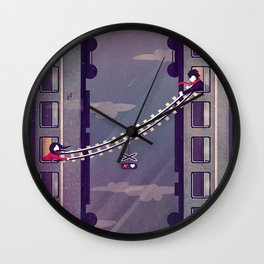 I won't leave without U Wall Clock