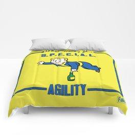 Agility S.P.E.C.I.A.L. Fallout 4 Comforters