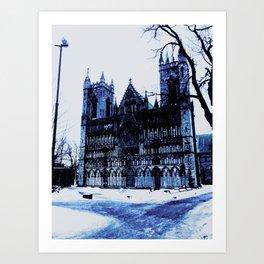 Snow Castle Art Print