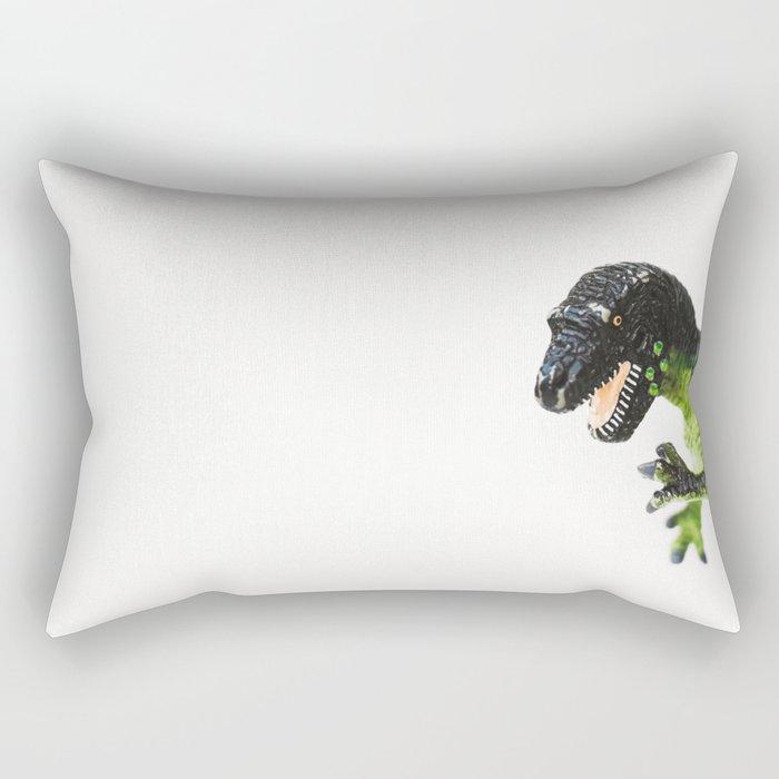 Dinosaur Fine Art Print Rectangular Pillow