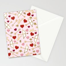 Cupid Love (soft pink) Stationery Cards