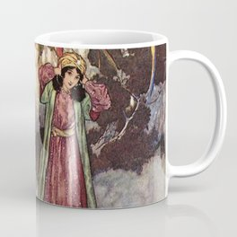 Beauty by Edmund Dulac Coffee Mug