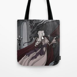 Beauty and the Beast Dance Tote Bag