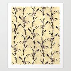 Freedom Birds Art Print