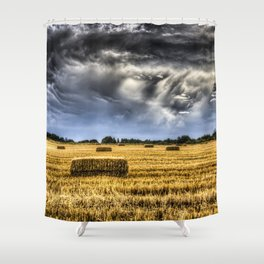 Storm Clouds Rising Shower Curtain