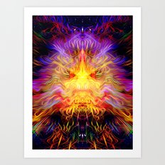 Cosmic Radiation Art Print