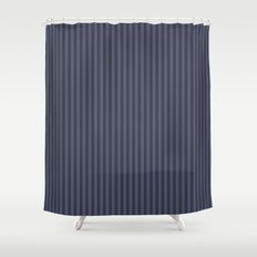 Grey stripes Shower Curtain