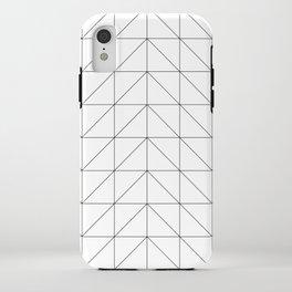 Scandi Grid iPhone Case