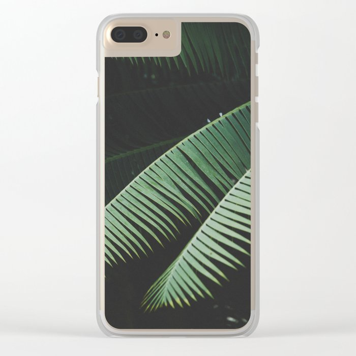 Night in the Tropics Clear iPhone Case