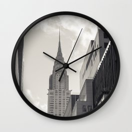 The Chrystler Building Wall Clock