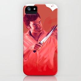 Dexter Morgan - digital painting iPhone Case
