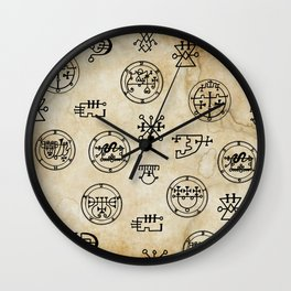 Lemegeton Wall Clock