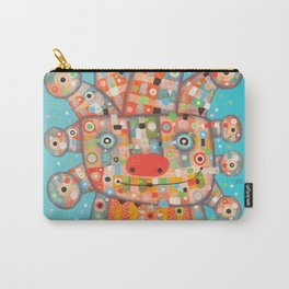 Clown with Flower Carry-All Pouch