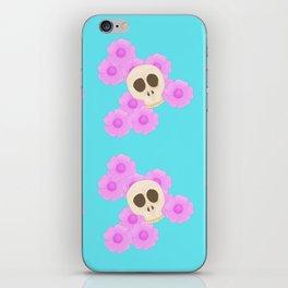 Skull Bag iPhone Skin