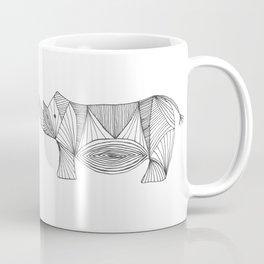 Rhino Lines Coffee Mug