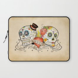 Death Do Us Part Laptop Sleeve