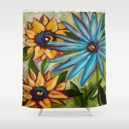 untitled- My Garden collection Shower Curtain