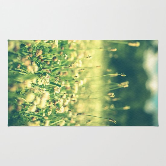 My Heart Was Wrapped in Clover (the night I looked at you) Rug