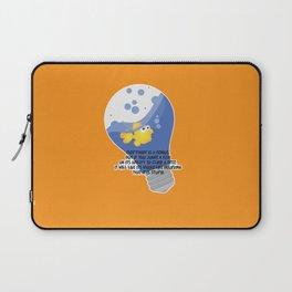 Everybody is a genius. Laptop Sleeve