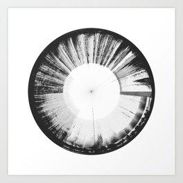 Sound of Earth - Van Allen Belt 3 Art Print