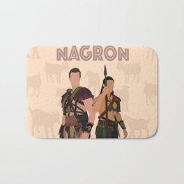 Nagron Goat Farm (Spartacus) Bath Mat
