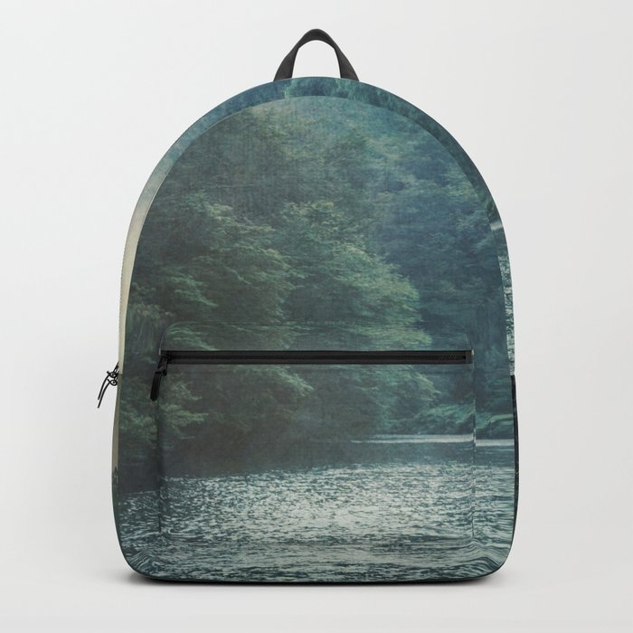 valley and river Backpack