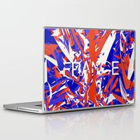 france Laptop & iPad Skins featuring France by Danny Ivan