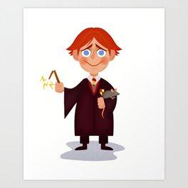 Ron Weasley Art Print