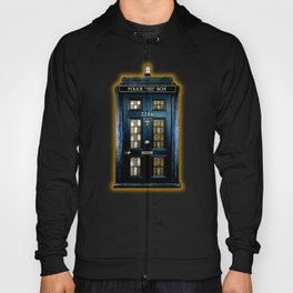 Tardis doctor who Mashup with sherlock holmes 221b door Hoody