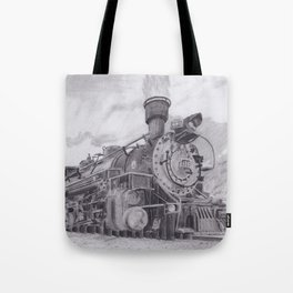 Durango and Silverton Steam Engine Tote Bag