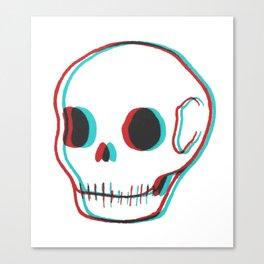 3DSkull Canvas Print