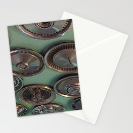Vintage Hubcaps Stationery Cards