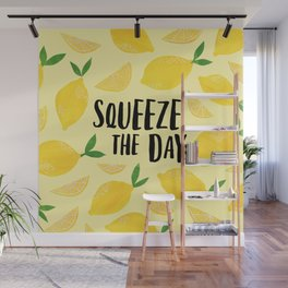 Squeeze the Day Wall Mural