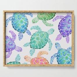 Sea Turtle - Colour Serving Tray