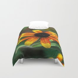 Painted Daisies Duvet Cover