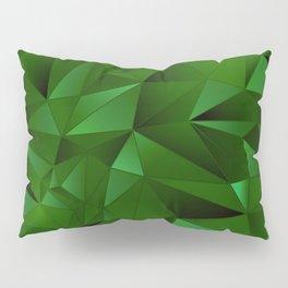 Rough Gems ~ Emerald Pillow Sham