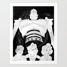 The Iron Giant Art Print