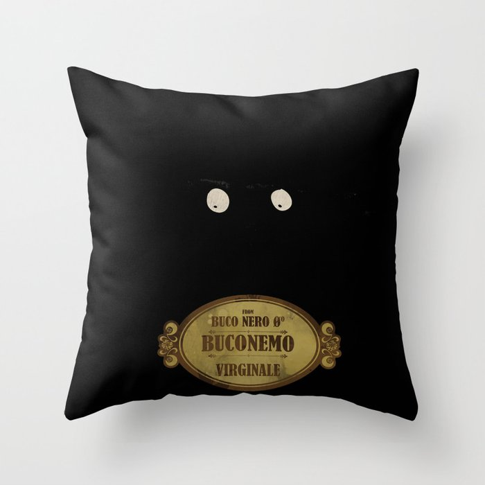 "Bunemo from Black Hole ""O"" (Virginale) Throw Pillow"