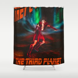Adventures Of Donna Nova Shower Curtain
