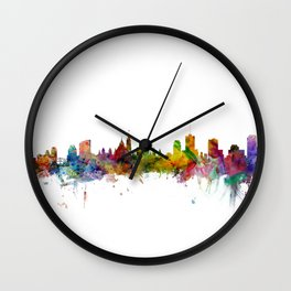Ottawa Canada Skyline Wall Clock