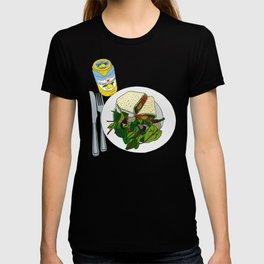 Healthy Falafel Wrap Lunch T-shirt