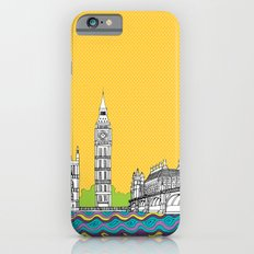 London Town Pop Art with spotty sky iPhone 6s Slim Case